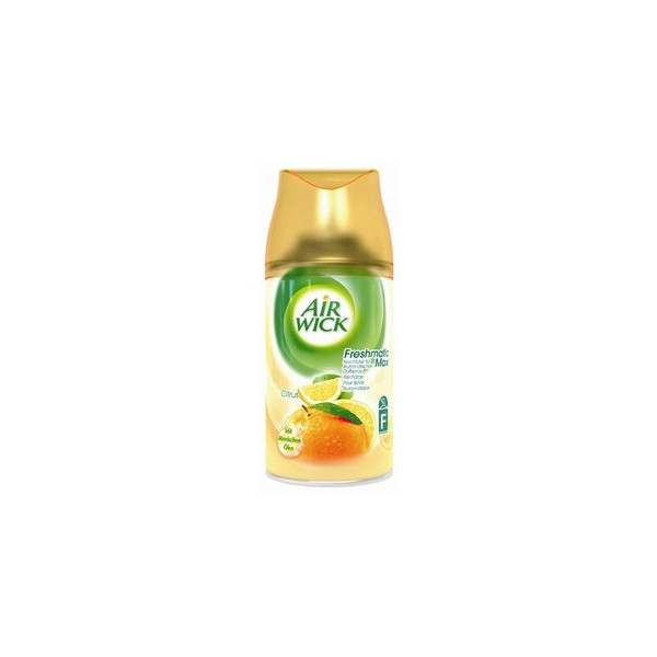 (2,42 EUR/100 ml) Airwick Freshmatic Max Citrus Compact Duftspray Nachfüller 250 ml