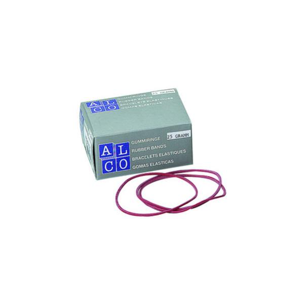 (1,28 EUR/100 g) Alco Gummiringe 734 Ř 65mm rot 25g