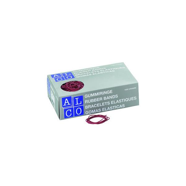 (14,84 EUR/100 g) Alco Gummiringe 743 Ř 40mm rot 1kg