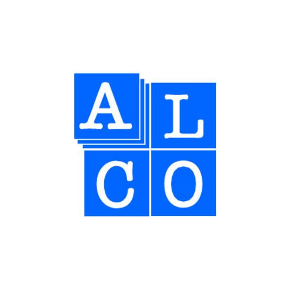 Alco Schreibtischlampe 954 mit Fuß schwarz