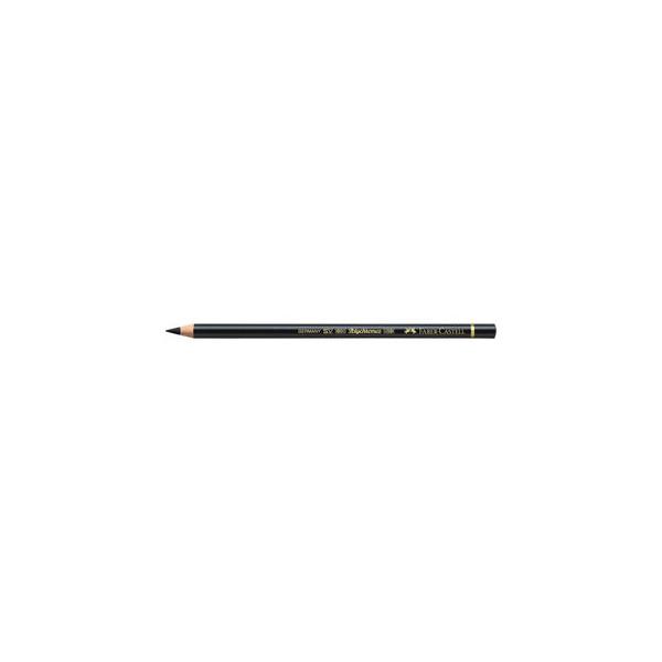 Faber-Castell Buntstifte Polychromos schwarz Ölkreidemine Ř 3,8mm