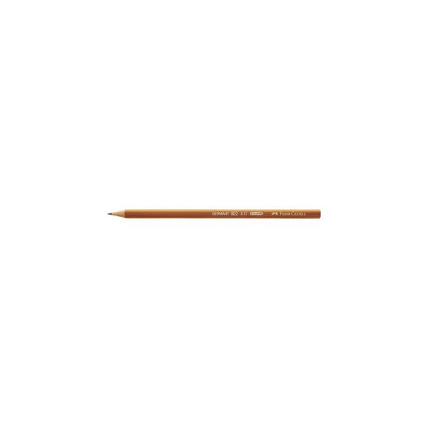 Faber-Castell Bleistifte HB natur Wasserlack