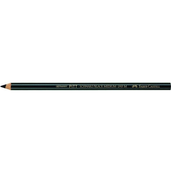 Faber-Castell Zeichenkreidestift medium schwarz