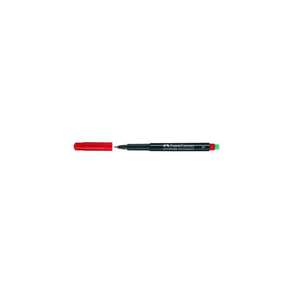 Faber-Castell Folienstift Multimark 1523 S rot 0,4 mm permanent