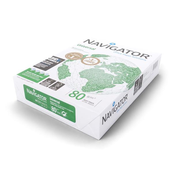 Navigator Universal Kopierpapier A4 80g weiß 500 Blatt