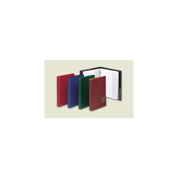 Brunnen Telefonringbuch 4-Ring A-Z schwarz A5 24-teilig 64340