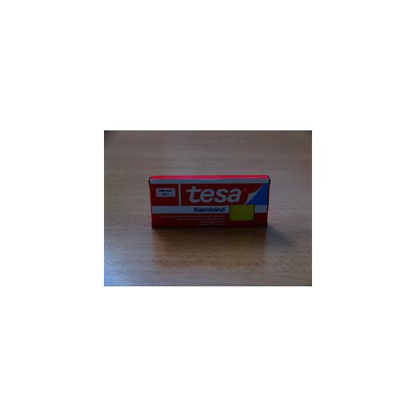 Tesa Kennband für Kabelenden gelb 10x20mm beschriftbar 200 Stück