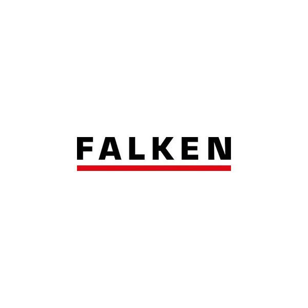 Falken Ösenschmalhefter A4 mit Heftfalz gelb 250g