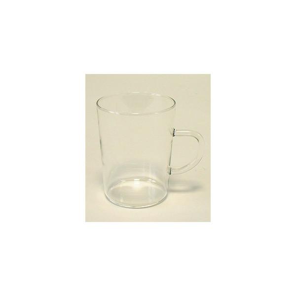 Bohemia Cristal Teeglas Bohemia-Cristal 250 ml mit Henkel 69x90mm 6 Stück