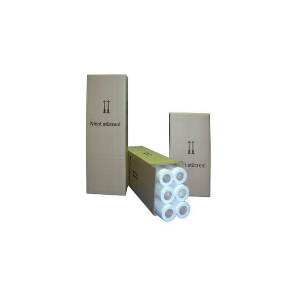 Cabro Plotterpapier e-matt 914mm x 45m 90g weiß matt gestrichen 6 Rollen