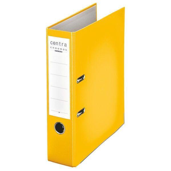 Centra Chromos gelb Ordner A4 80mm breit