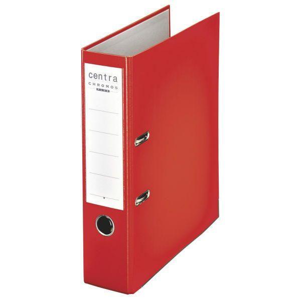 Centra Chromos rot Ordner A4 80mm breit