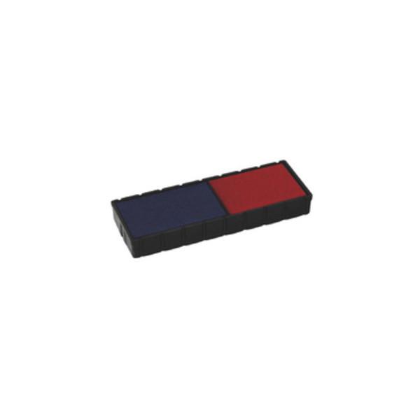 Colop Stempelkissen E/12/2 blau/rot 2er