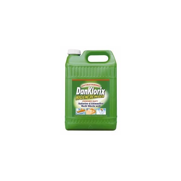 (2,24 EUR/1 l) DanKlorix Hygienereiniger frischer Duft grün Kanister 2 x 5 Liter