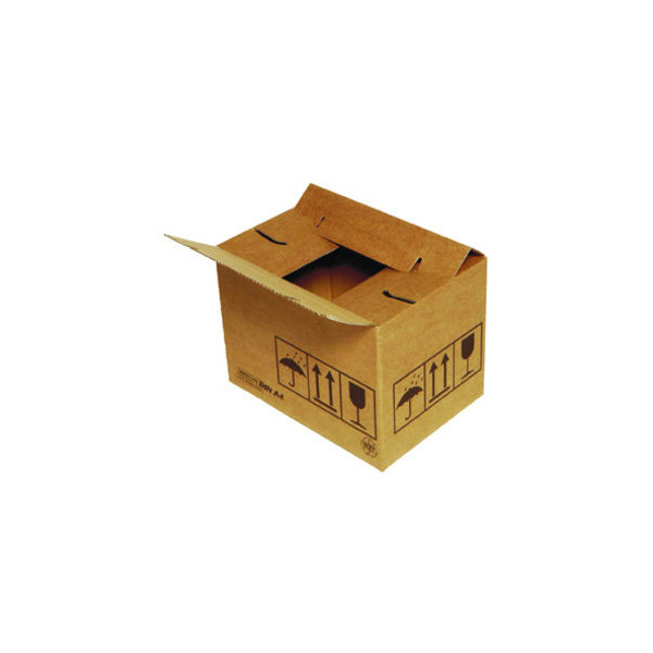 Dinkhauser Versandkarton QUiCK-Lock duo 1-wellig 300x200x180 mm braun 1 Stück