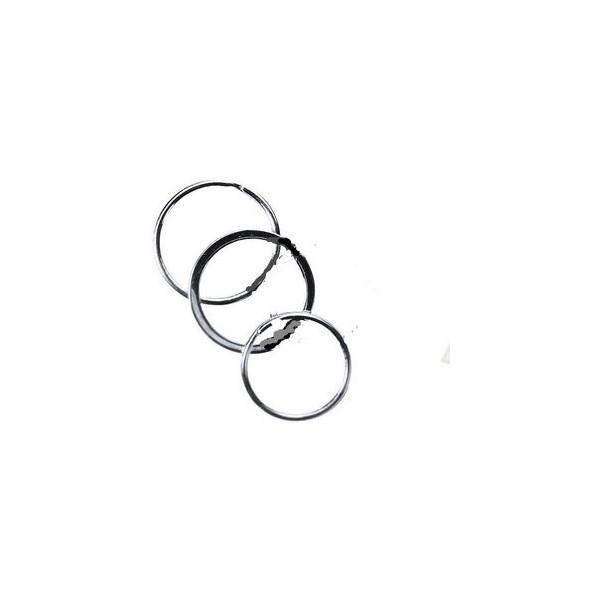 Wedo Schlüsselringe SR 25 Metall Durchmesser 25mm 100 Stück