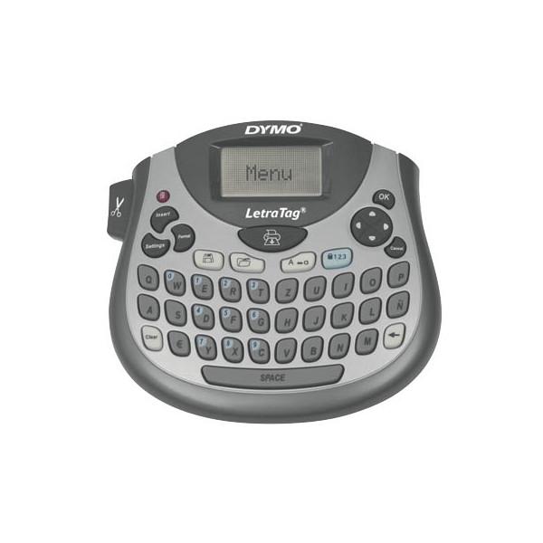 Dymo Beschriftungsgerät LT-100T silber für LT-Band Qwerzt-Tastatur 12mm