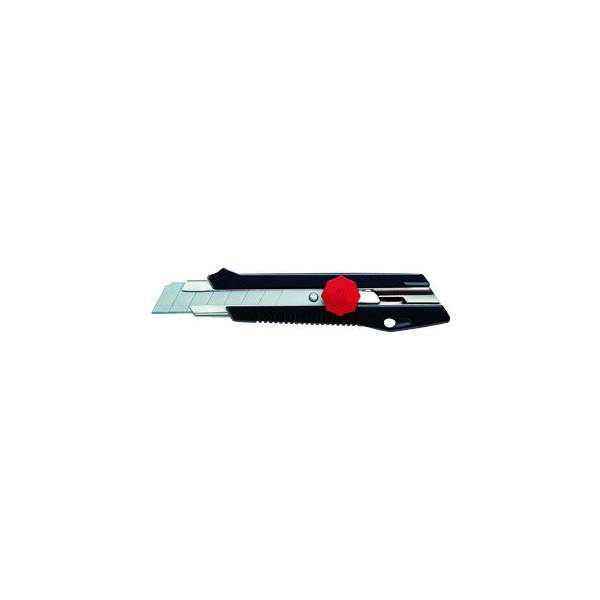 Ecobra Cutter 770500 schwarz/rot 18mm Klinge