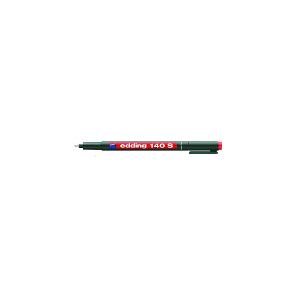 Edding Folienstift 140 S rot 0,3 mm permanent