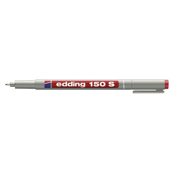 Edding Folienstift 150 S rot 0,3 mm non-permanent
