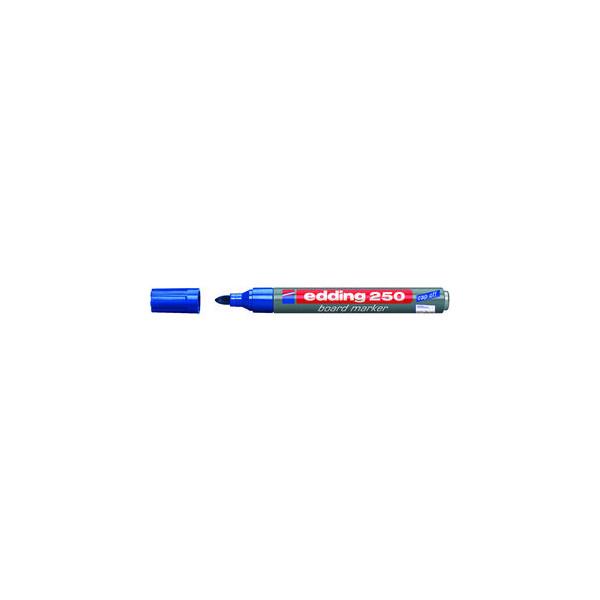 Edding Boardmarker 250 blau 1,5-3mm Rundspitze