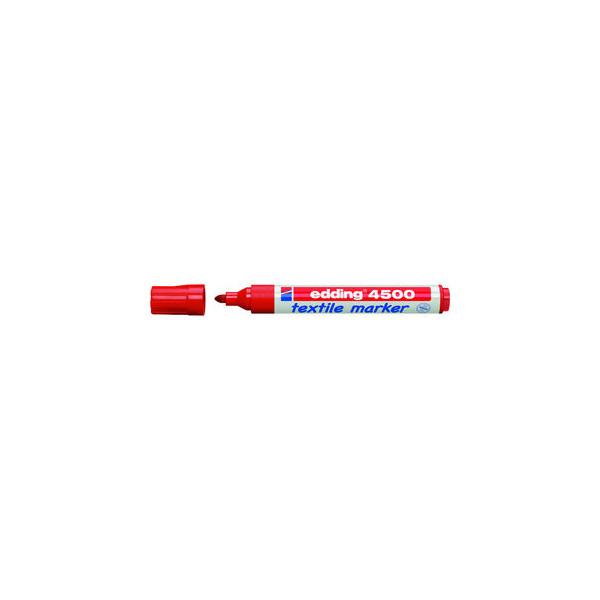Edding Wäschemarker 4500 rot 2-3mm Rundspitze