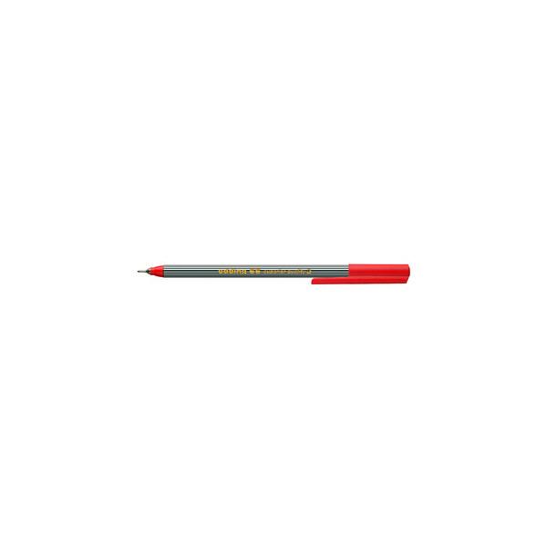 Edding Fineliner 55 finepen rot 0,3 mm