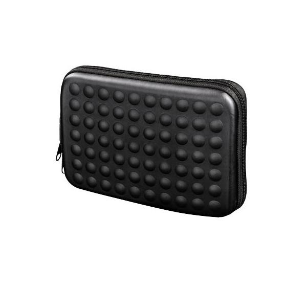 Hama Navi-Tasche Dots 6 Zoll schwarz 18x2,5x11cm m.Reißv.