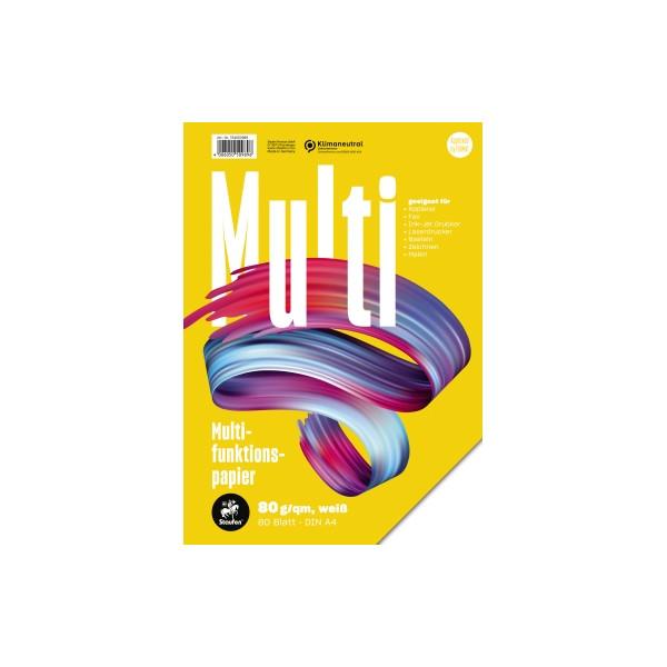 Staufen 7xPlus Colors A4 80g Kopierpapier weiß 80 Blatt