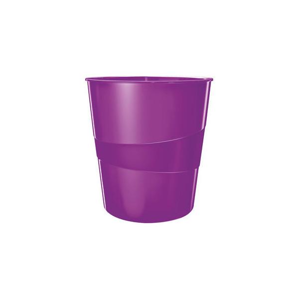 LEITZ 5278-10-62 Papierkorb WOW 15l violett met