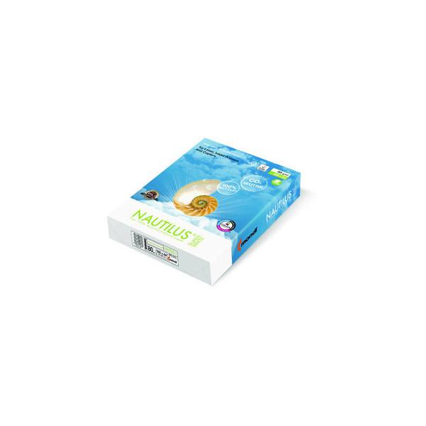 Nautilus SuperWhite A4 80g Recyclingpapier weiß 500 Blatt
