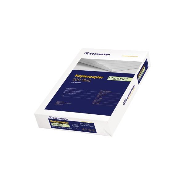 Soennecken Standard 5555 A4 80g Kopierpapier weiß 500 Blatt