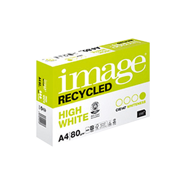 Image Recycled A4 80g Recyclingpapier weiss 500 Blatt