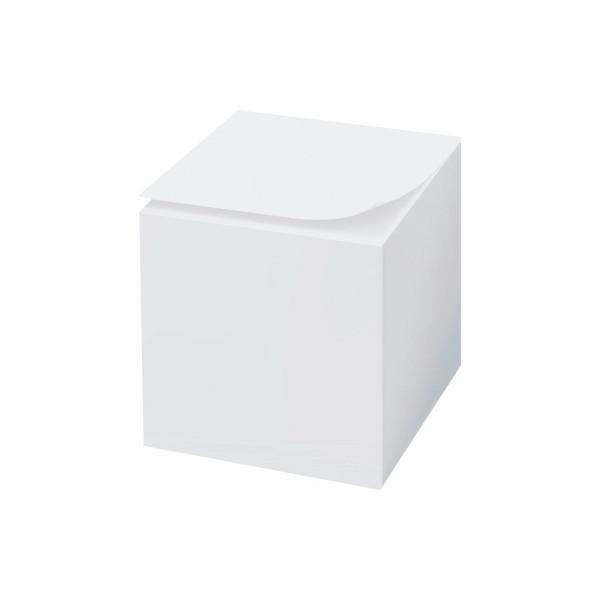 Notizzettelklotz 9 x 9 x 9 cm lose 800 Blatt weiß