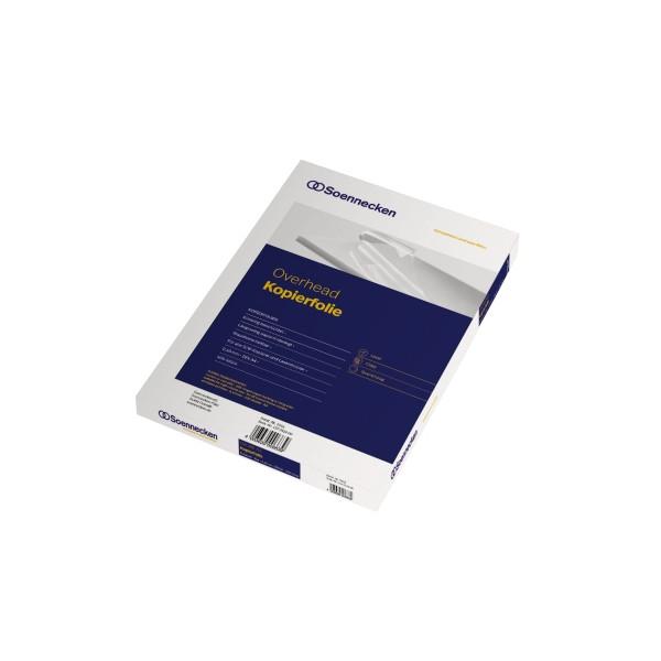 Soennecken Kopierfolie 5500 DIN A4 kopfgeleimt 0,10mm 100 St./Pack.