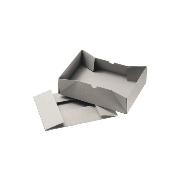 Versandkarton 305x215x100 mm grau 25 Stück