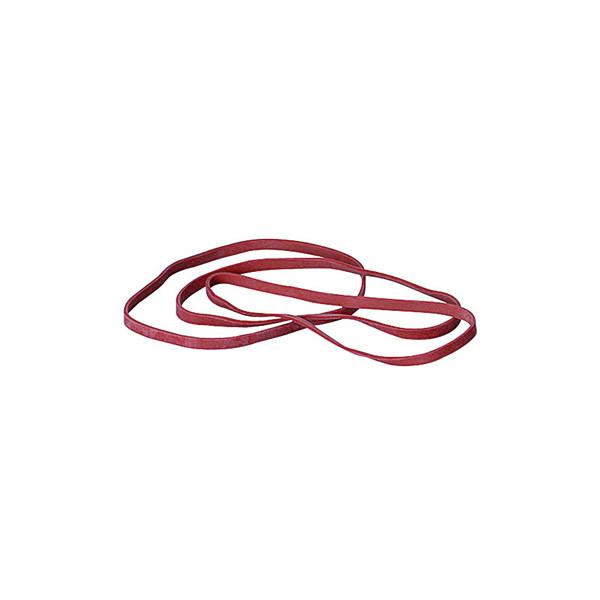 (1,62 EUR/100 g) Gummibänder 4 x 130mm rot 50g Ř ca 82mm