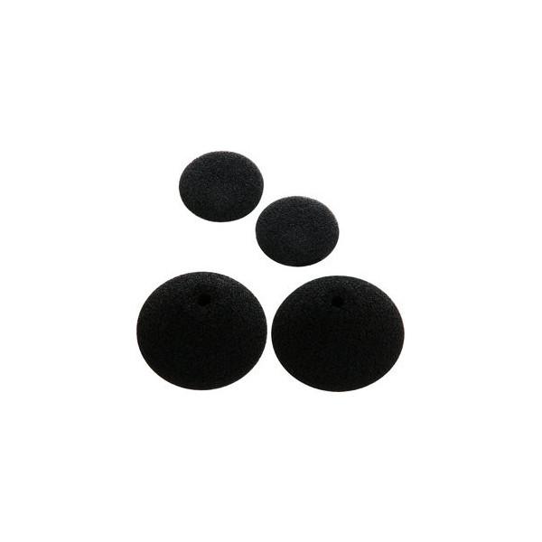 Olympus Ohrpolster für Kopfhörer E62 schwarz 1 Pack(4 Polster)