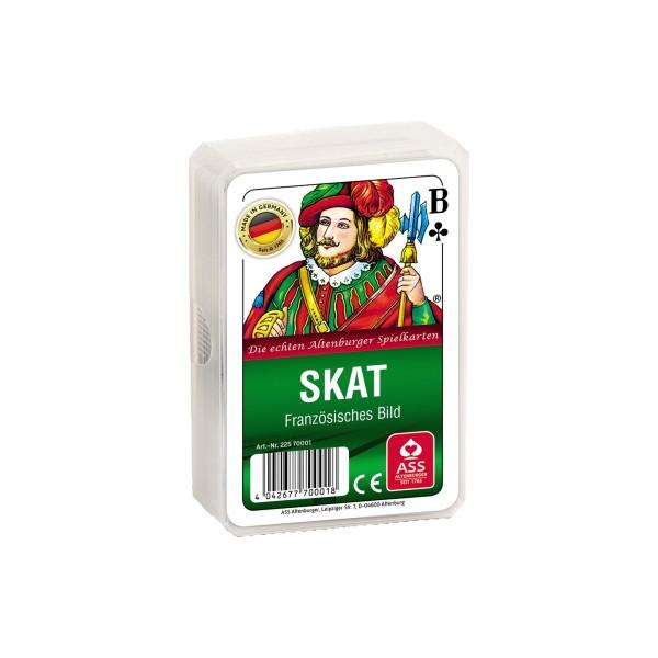 ASS Spielkarten Skat Club französisches Blatt Kunststoffetui