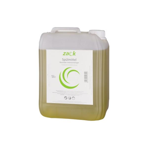 (1,34 EUR/1 l) zack Geschirrspülmittel 14704 Zitro 5 Liter Nachfüllkanister