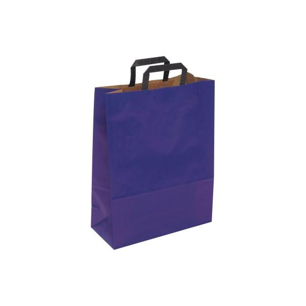 Papiertragetasche Topcraft 1FTTC006022 blau 50 St./Pack