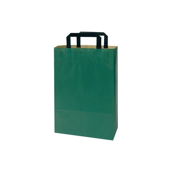 Papiertragetasche Topcraft 1FTTC004022 grün 50 St./Pack