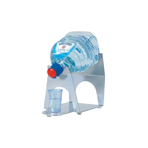 Saftspender mit Metallfuß Wasserspender Getränkespender 3L Glasspender