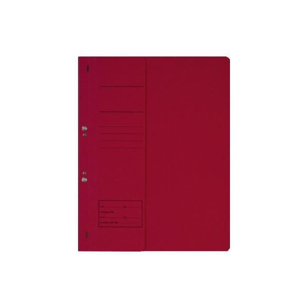 Ösenhefter DIN A4 250g/m˛ Karton rot
