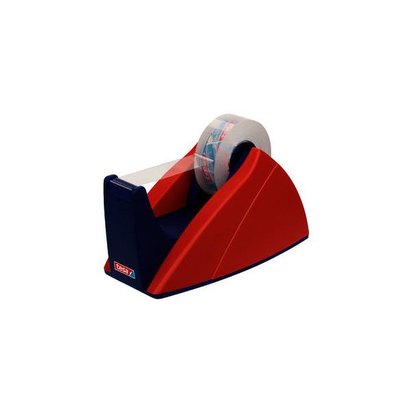tesa Tischabroller Easy Cut® 19 mm x 33 m (B x L) rot/blau