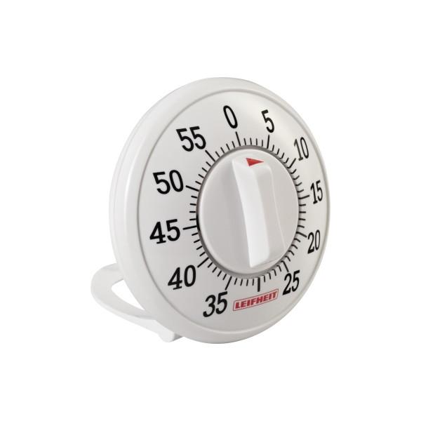 Leifheit Eieruhr 8,5 x 3,5 cm (Ø x T) 60min ABS Kunststoff weiß
