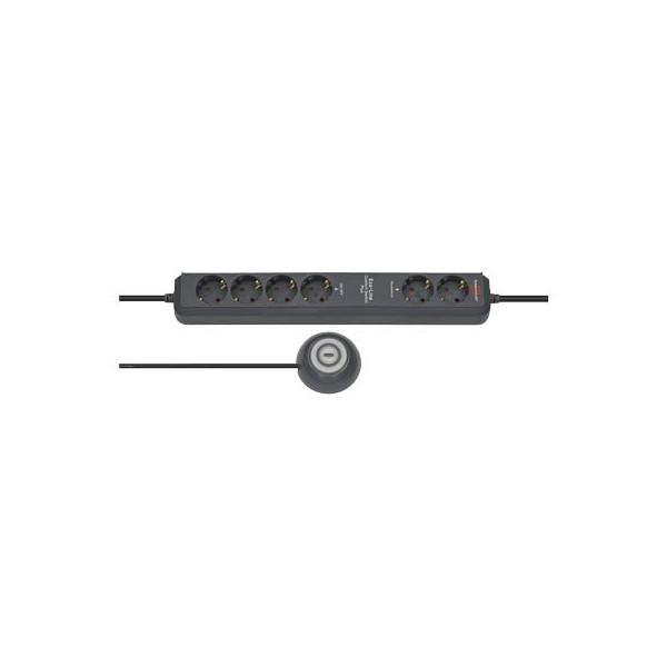 brennenstuhl Steckdosenleiste Eco-Line Comfort Switch Plus EL CSP 24 6 Steckdosen 1,5m schwarz