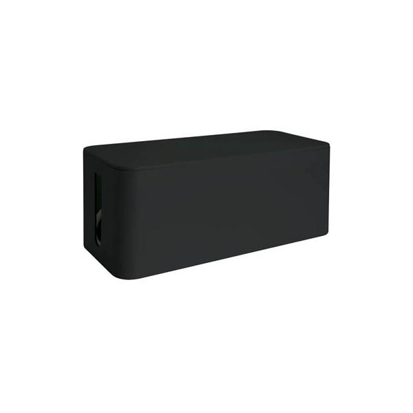 MediaRange Kabelbox 155 x 133 x 405 mm (B x H x T) Kunststoff schwarz