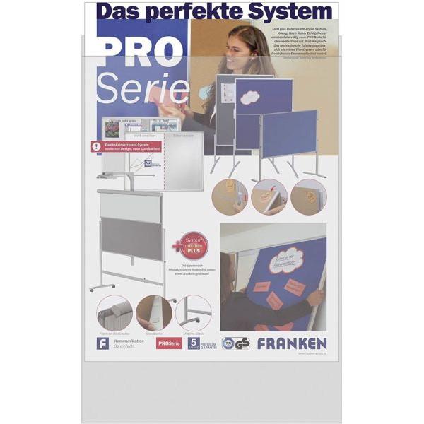 Franken A1 Sicht - Hülle wetterfest 594 x 841mm z.B. für Poster