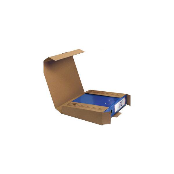 Pressel Versandkarton für 1 Ordner bis 80mm 323x291x78 mm braun 20 Stück